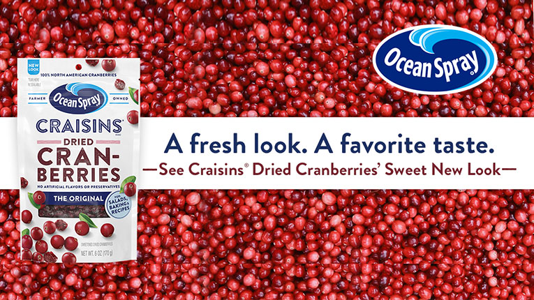 Get a $1.00 OFF Coupon on Ocean Spray Craisins Cranberries