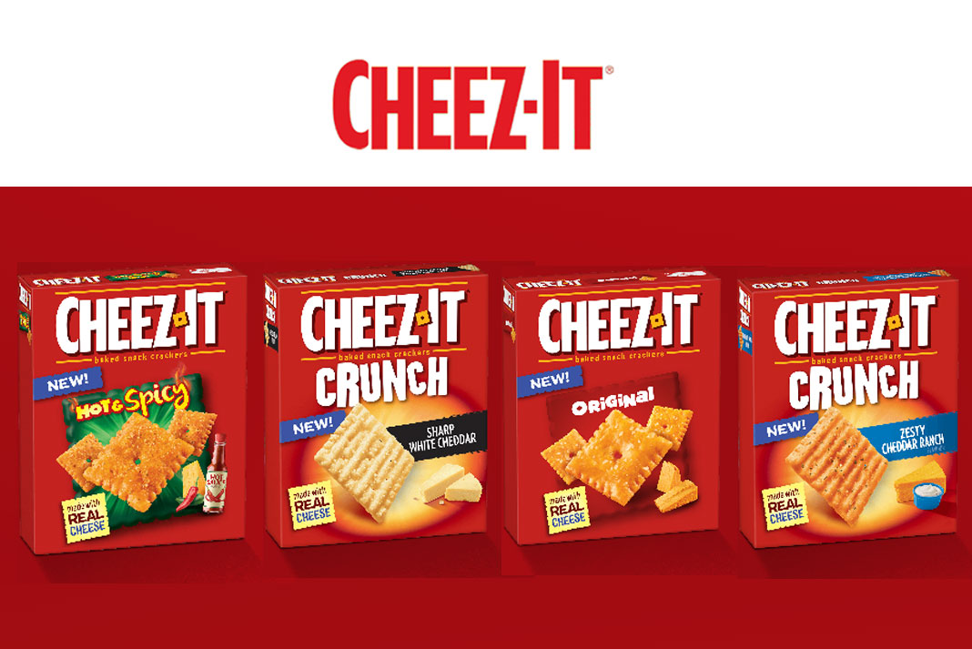 Get your Save $1.00 Coupon on Cheez It Crackers