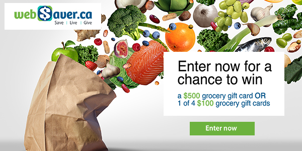 Enter the webSaver.ca It's Time for Spring Contest for a chance to win up to $900 in prizes