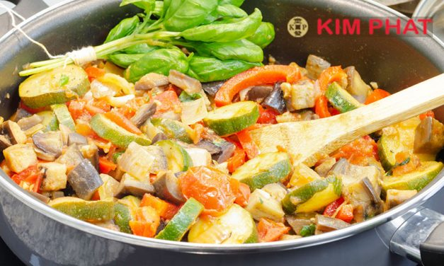 Enjoy this healthy and delicious Asian Ratatouille recipe courtesy of Kim Phat: Recipe of the Week