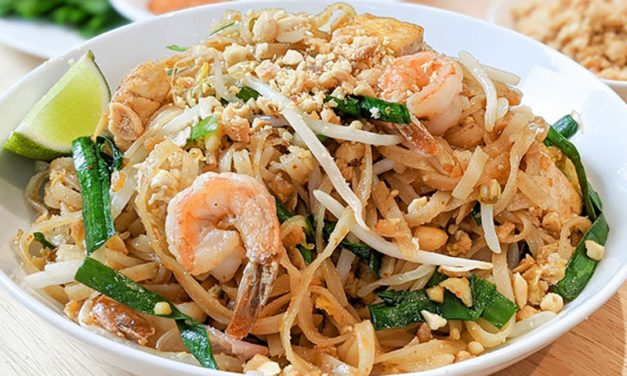 Try this delicious Pad Thai Video Recipe courtesy of Kim Phat