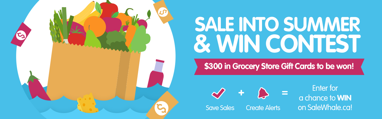 SaleWhale.ca's Sale into Summer Contest